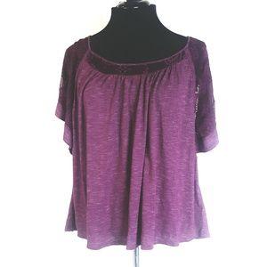 Cato purple blouse